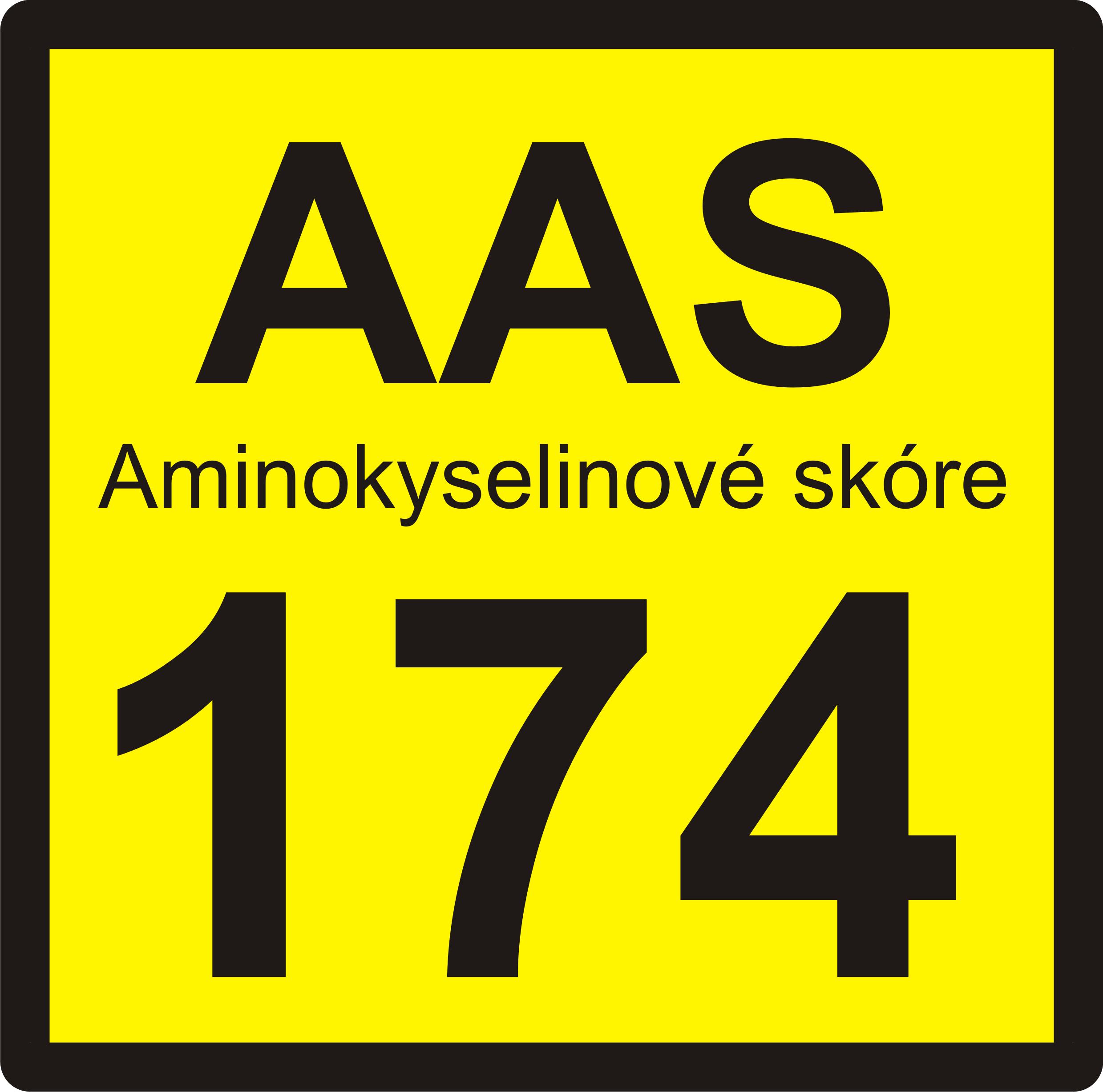 aminokyselinové skóre174